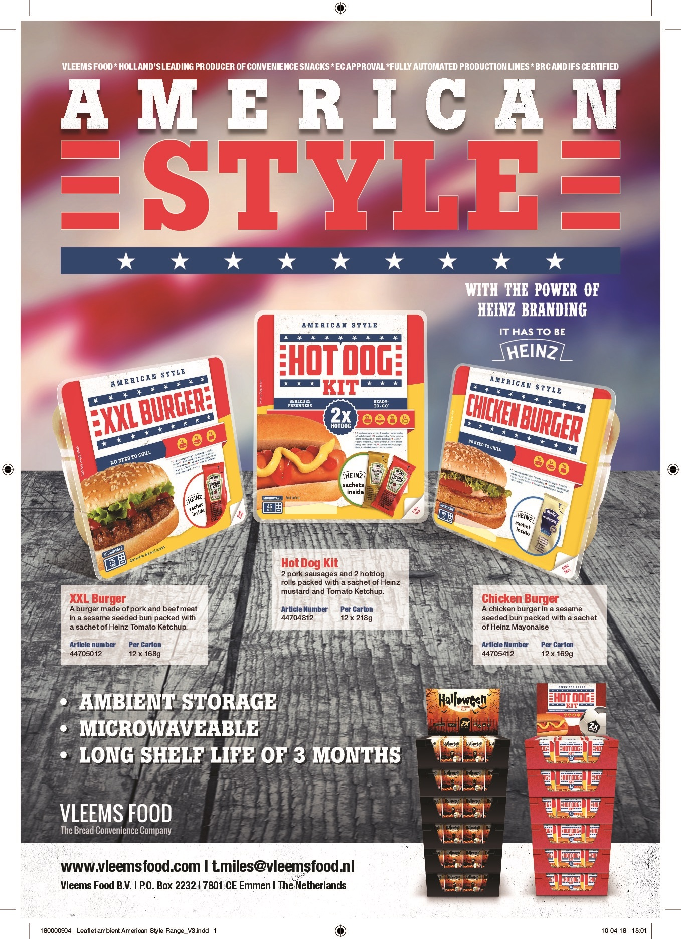 20180406 Leaflet ambient American Style Range H