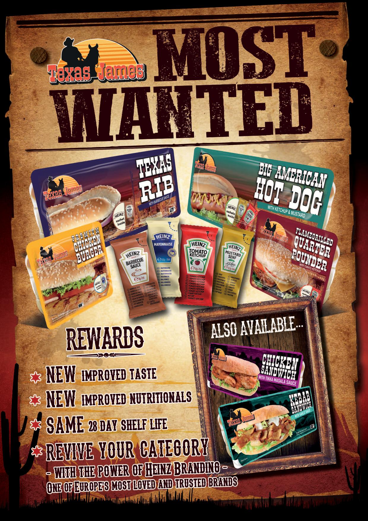 Leaflet Texas James Most Wanted final